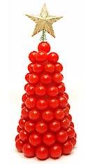 Tomaten-Weihnachtsbaum