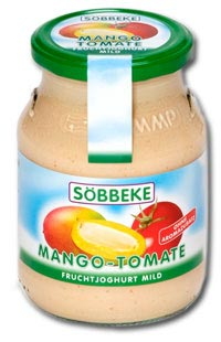Joghurt Mango-Tomate
